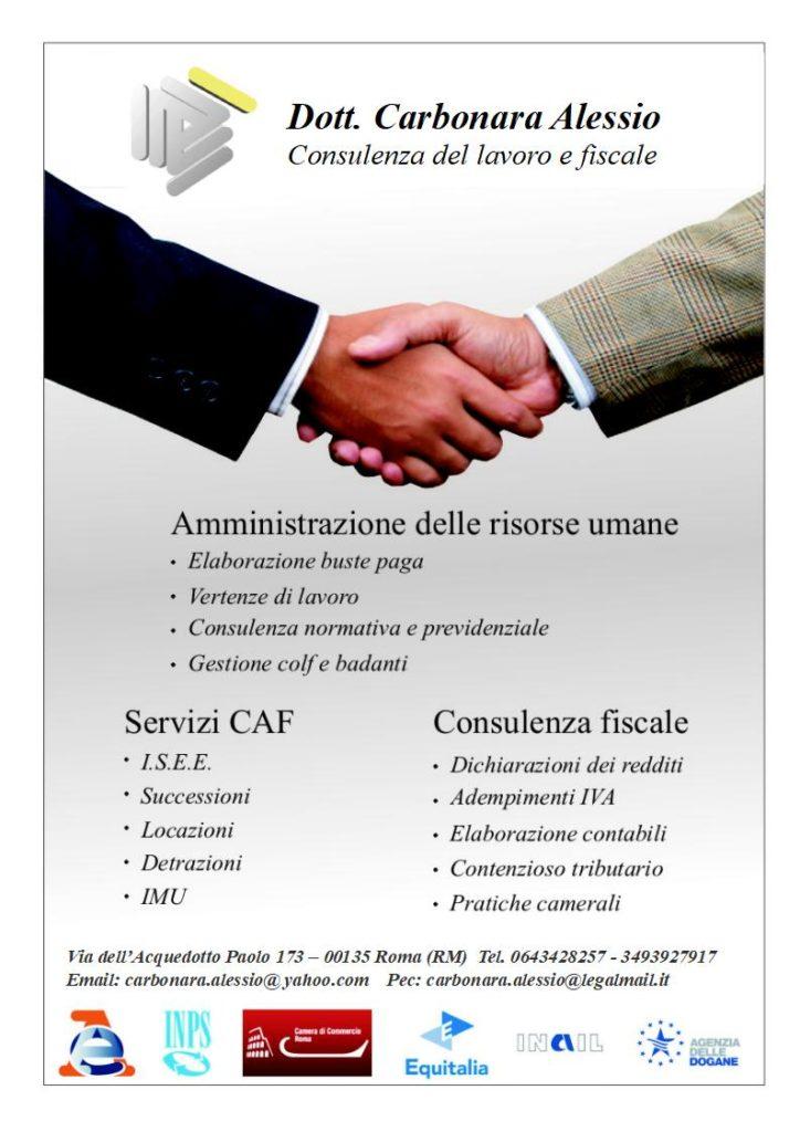 consulenza fiscale e del lavoro roma